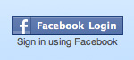[Facebook login button]